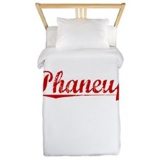 Phaneuf, Vintage Red Twin Duvet