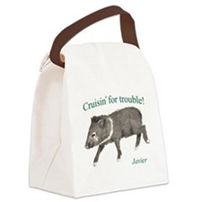 Javier - Cruising for trouble! Canvas Lunch Bag