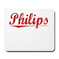 Philips, Vintage Red Mousepad