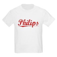 Philips, Vintage Red T-Shirt