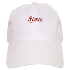 Pierce, Vintage Red Baseball Cap