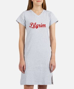 Pilgrim, Vintage Red Women's Nightshirt