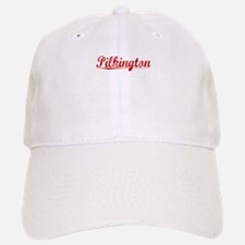 Pilkington, Vintage Red Baseball Baseball Cap