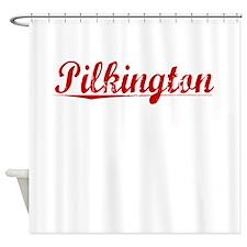 Pilkington, Vintage Red Shower Curtain