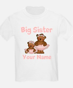 Big Sister Ballet Personalized T-Shirt