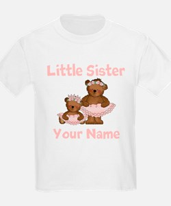 Little Sister Ballet Personalized T-Shirt