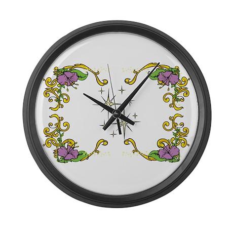 design Large Wall Clock by ArtworksuniqueBoutique