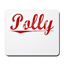 Polly, Vintage Red Mousepad