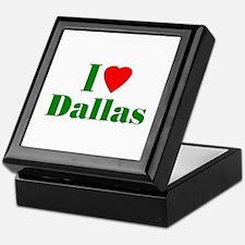 I Love Dallas Keepsake Box