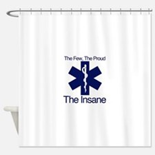 The Few, The Proud, The Insane Shower Curtain