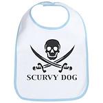 Scurvy Pirate Bib
