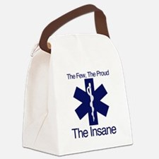 The Few, The Proud, The Insane Canvas Lunch Bag