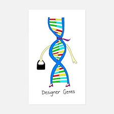 Designer Genes Sticker (Rectangle)