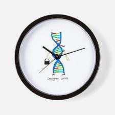 Designer Genes Wall Clock