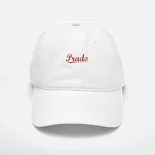 Prado, Vintage Red Baseball Baseball Cap