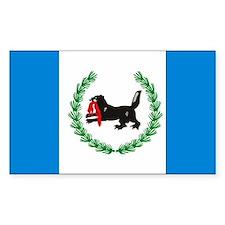 Irkutsk Flag Rectangle Decal