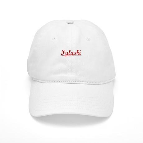 Pulaski, Vintage Red Cap