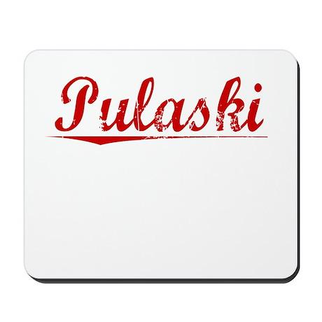 Pulaski, Vintage Red Mousepad