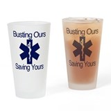 Busting ass Pint Glasses
