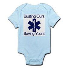Busting Ours, Saving Yours Infant Bodysuit