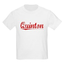 Quinton, Vintage Red T-Shirt