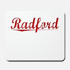 Radford, Vintage Red Mousepad