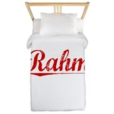 Rahm, Vintage Red Twin Duvet