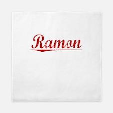 Ramon, Vintage Red Queen Duvet