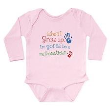 Kids Future Mathematician Baby Suit