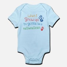 Kids Future Mathematician Infant Bodysuit