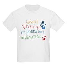 Kids Future Mathematician T-Shirt