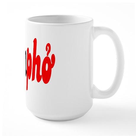 Nympho Large Mug