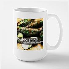 Fancy Fruit Cucumber Mug