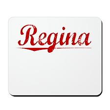 Regina, Vintage Red Mousepad