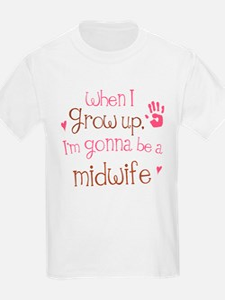 Kids Future Midwife T-Shirt