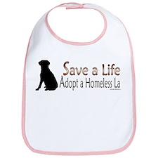 Adopt Homeless Lab Bib