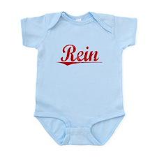 Rein, Vintage Red Infant Bodysuit