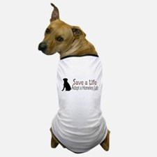 Adopt Homeless Lab Dog T-Shirt