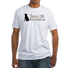Adopt Homeless Lab Shirt