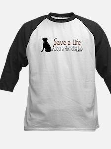 Adopt Homeless Lab Tee