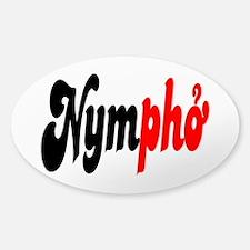 Nympho Sticker (Oval)