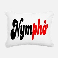 Nympho Rectangular Canvas Pillow