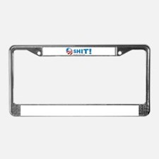 Oh Shit-Four More Years License Plate Frame