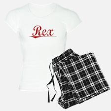Rex, Vintage Red Pajamas