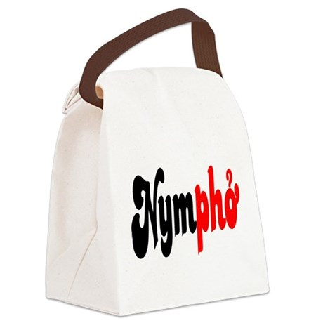 Nympho Canvas Lunch Bag