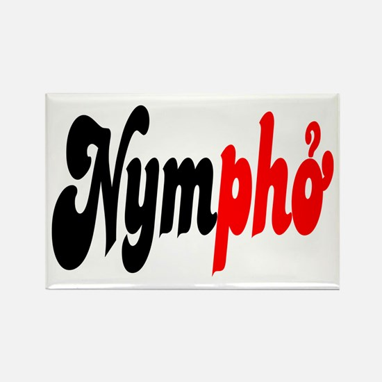 Nympho Rectangle Magnet