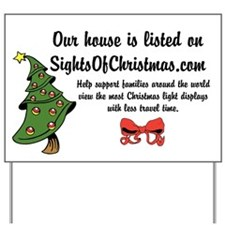SightsOfChristmas Yard Sign