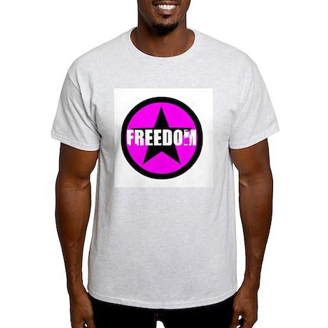 FREEDOM Ash Grey T-Shirt