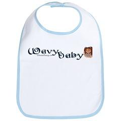 Wavy Baby Bib