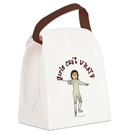 Light Fencer Canvas Lunch Bag